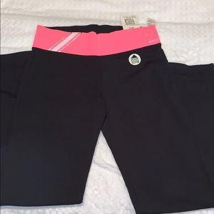 Victoria's Secret pink yoga pants boot cut 💞👖